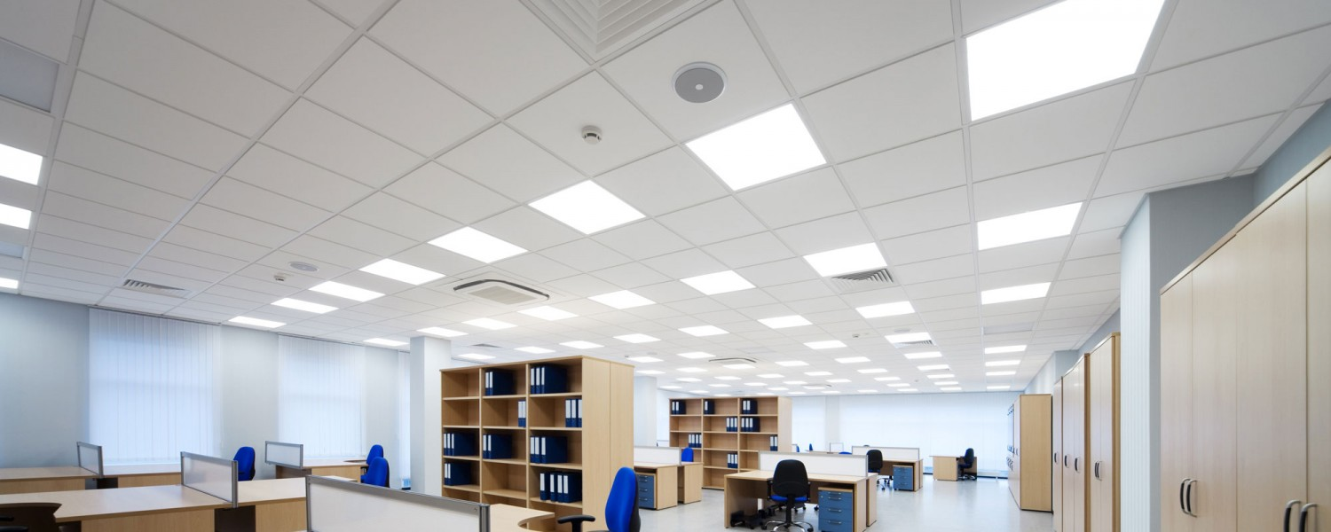 Building out your new office space? <br/>We also specialize in t-bar ceiling installation.